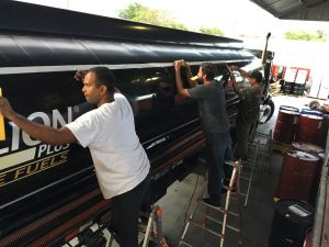 Custom Vehicle Graphic Installation