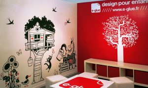 Custom Wall Vinyl Treehouse